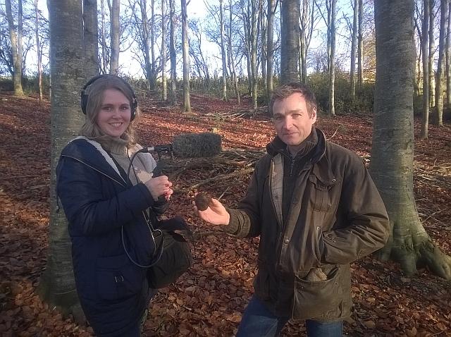 Chris Beardshaw joined us on a truffle hunt.
