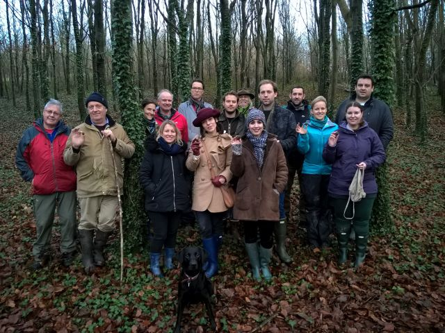 Another successful Dorset truffle hunt, not the biggest ever truffles - blame the drought!