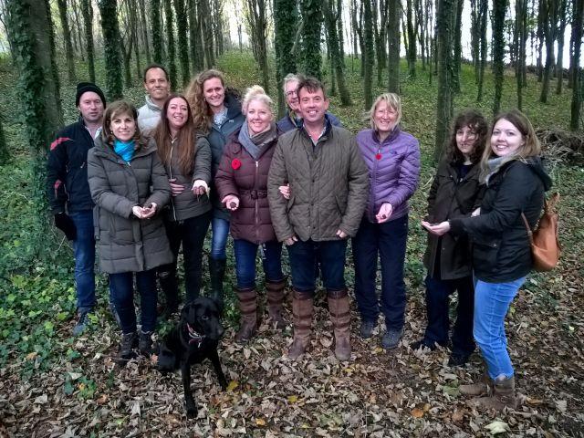 Happy Dorset Truffle Hunters Autumn 2018