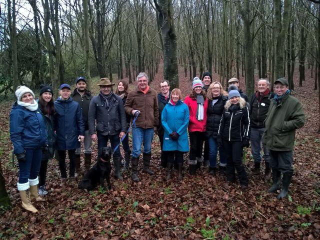 Happy hunters - Dorset January 2019