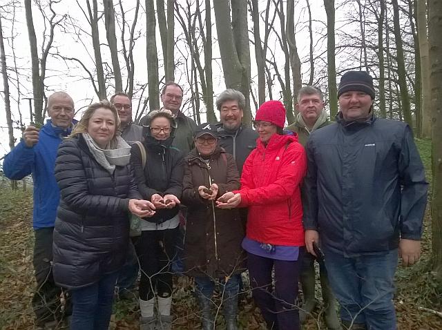 More happy truffle hunters