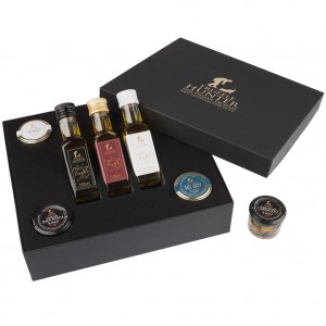 Complete Truffle Hamper - Truffle Oils, White Truffle Honey, Black Truffle Salt, Minced Black Truffle and Black Truffle Carpaccio