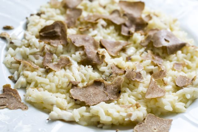 Cooking with truffles - Truffle Risotto