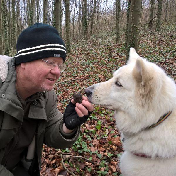 Woodland-based Truffle Dog Training Lesson