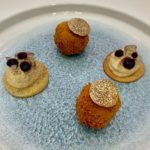 Our truffles in the Young National Chef of the Year (YNCOTY) competition.
