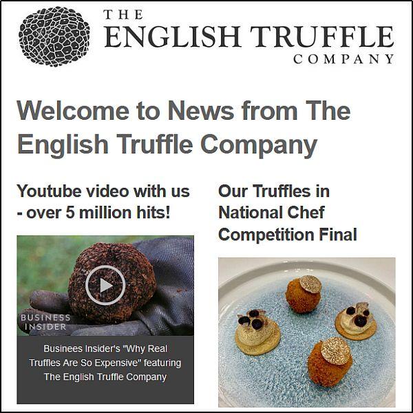 truffle newsletter