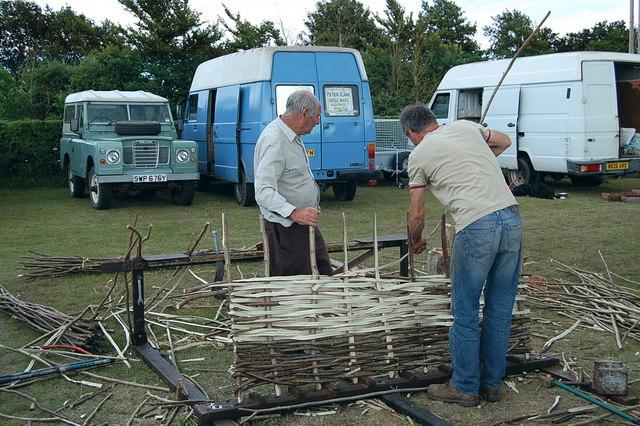 Hurdle makers Fordingbridge Summer Festival