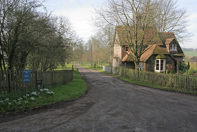 Entrance to Tichborne Park